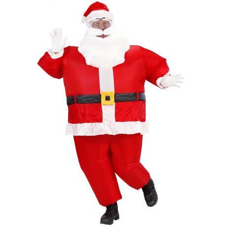 Disfraz Papa Noel Hinchable