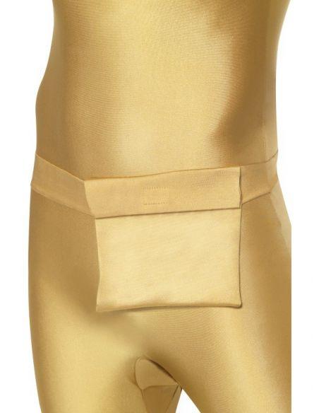 Disfraz de Segunda piel Oro Tienda de disfraces online - venta disfraces