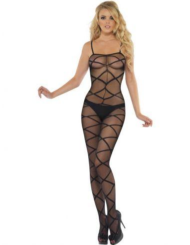 Body Entero Sexy Fantasía en Negro Tienda de disfraces online - venta disfraces