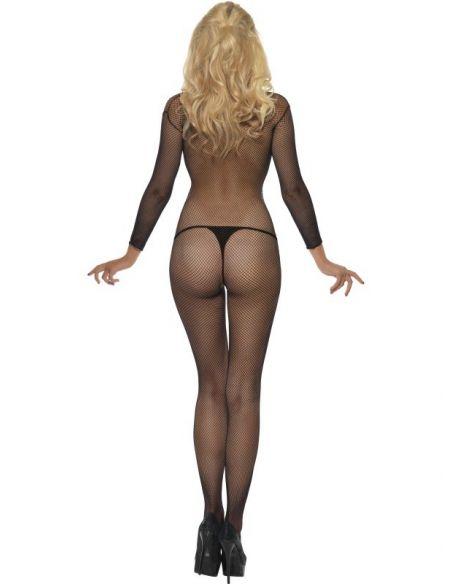 Body Entero de red Sexy Fantasía en Negro Tienda de disfraces online - venta disfraces