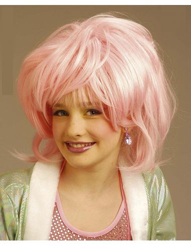 Peluca Chica Fashion infantil Tienda de disfraces online - venta disfraces
