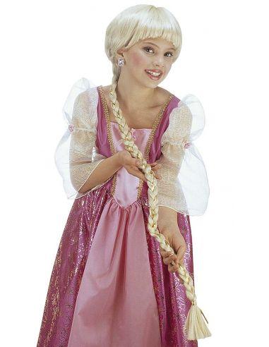 Peluca Rapunzel infantil Tienda de disfraces online - venta disfraces