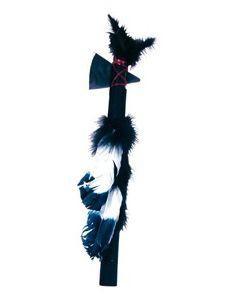 Hacha Tomahawks plumas indio Tienda de disfraces online - venta disfraces