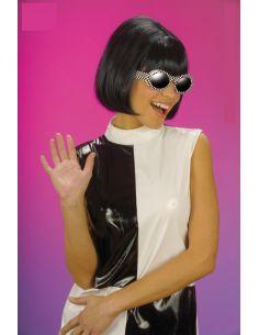 Peluca Morena Años 60 Tienda de disfraces online - venta disfraces