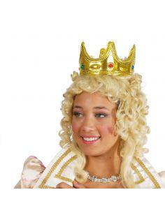 Corona de Reina o Rey en Oro Tienda de disfraces online - venta disfraces