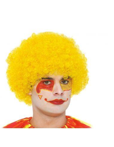 Peluca Rizos Amarilla Tienda de disfraces online - venta disfraces