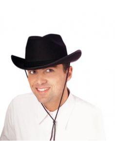 Sombrero Vaquero o Cowboy en Negro Tienda de disfraces online - venta disfraces