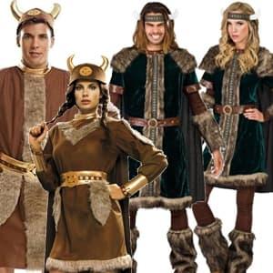 Disfraces de Vikingos