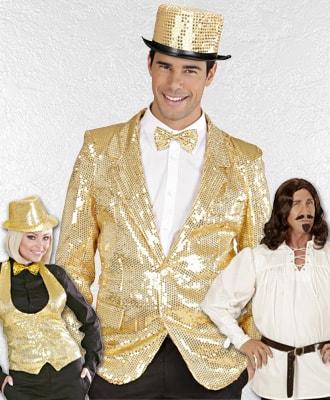 Chaquetas, camisas y chalecos para complementar tu disfraz de carnaval