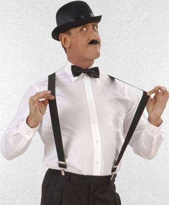 Cinturones y tirantes para complementar tu disfraz de carnaval