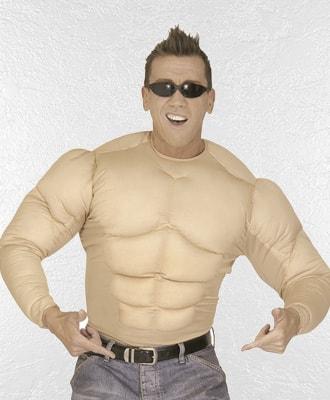 Cuerpos musculosos para complementar tu disfraz de carnaval