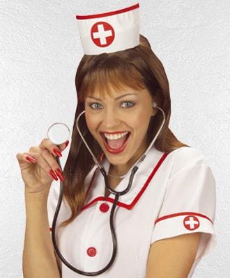 Complementos de enfermera y doctor para complementar tu disfraz de carnaval