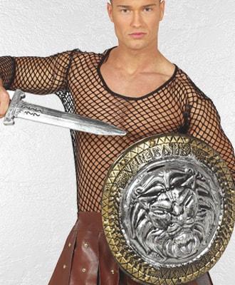 Escudos y Armas para complementar tu disfraz de carnaval