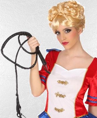 Látigos para complementar tu disfraz de carnaval