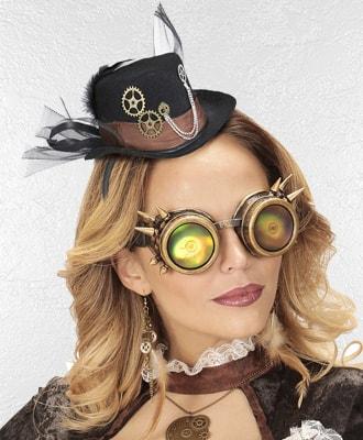 Mini sombreros para complementar tu disfraz de carnaval