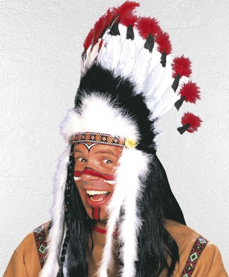 Penacho de Indios para disfraces