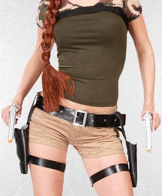 Pistolas para disfraces