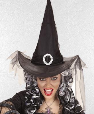 Sombreros de Brujas para disfraces