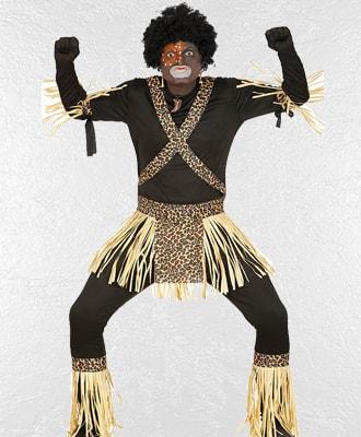 Complementos de Zulus para disfraces