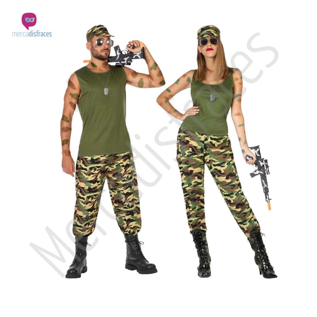 Disfraces para grupos y parejas de Soldados y Militares