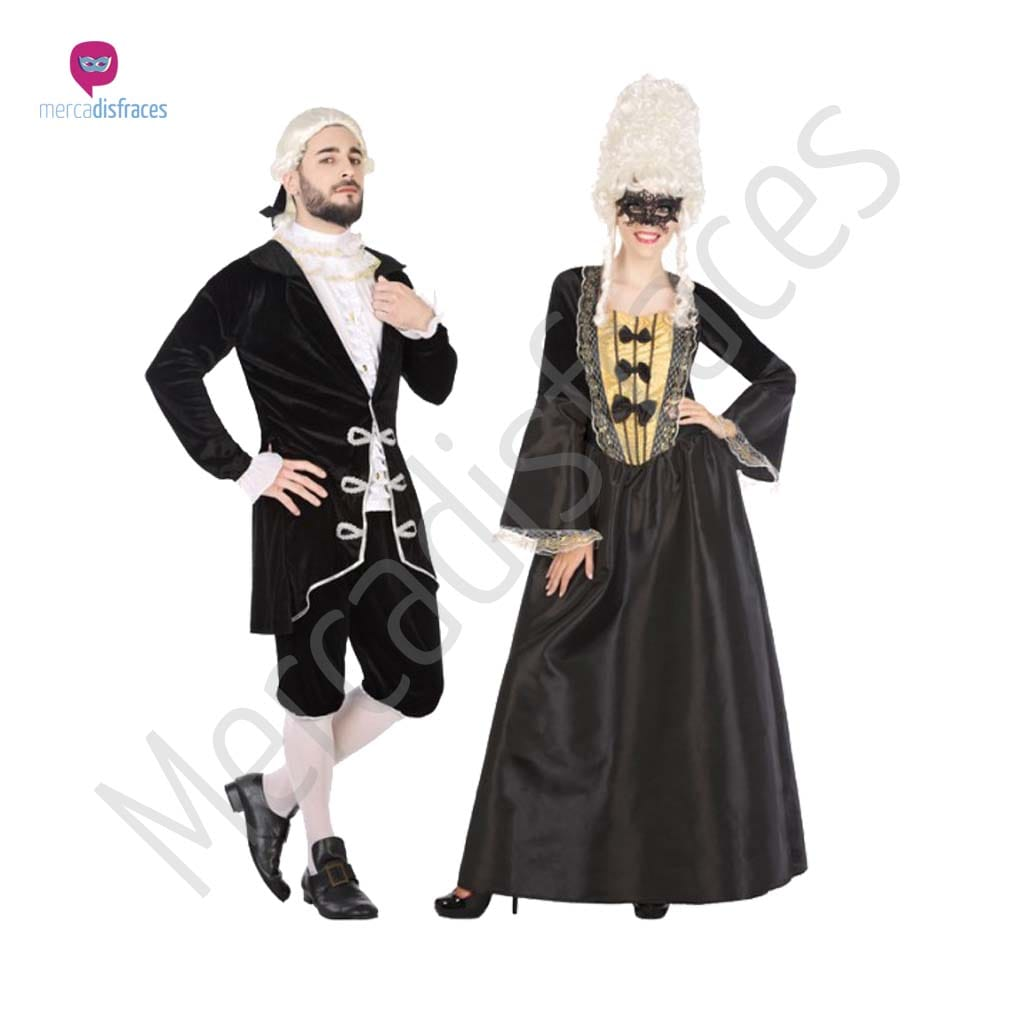 Disfraces para grupos y parejas de Epoca y Venecianos