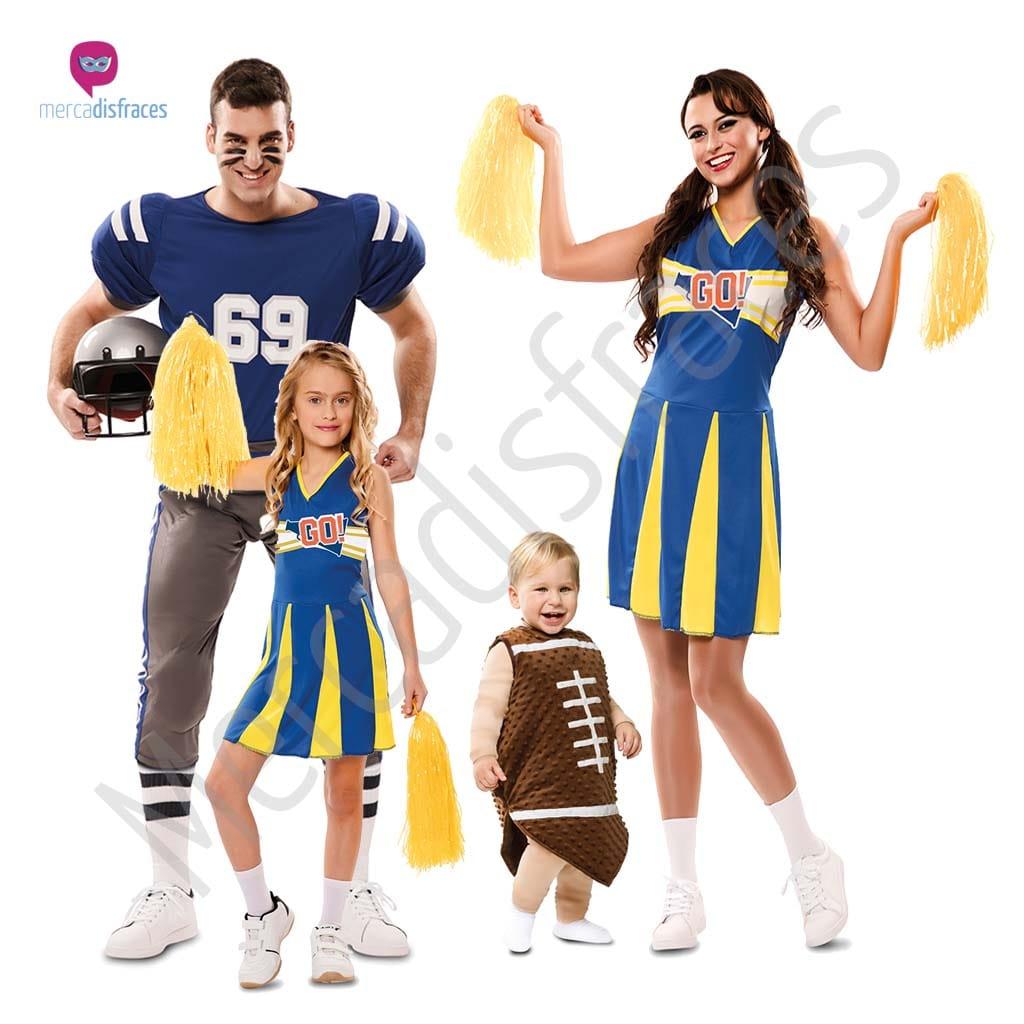 Disfraces para grupos y parejas de Animadoras y Jugadores de Rugby