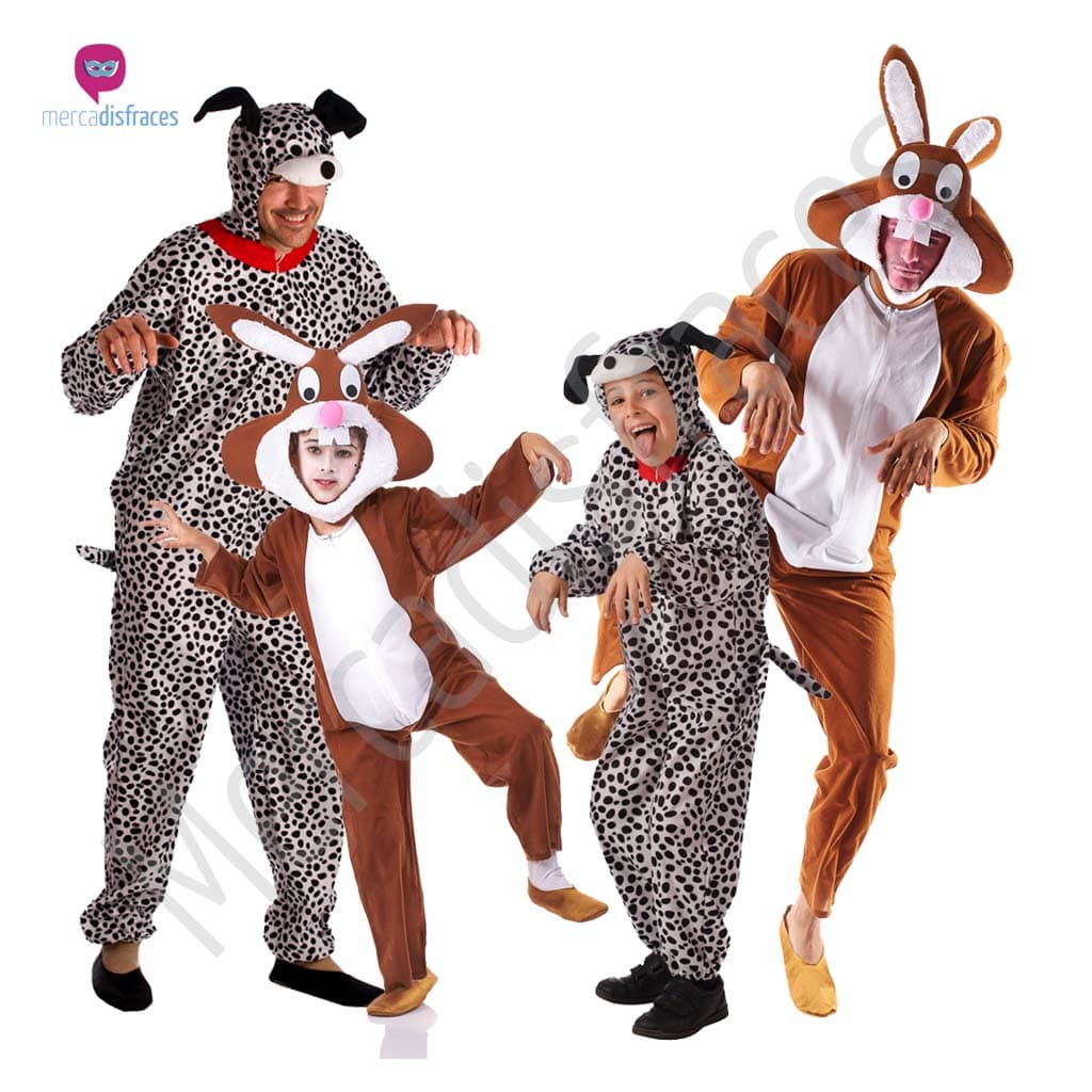 Disfraces para grupos y parejas de Animales