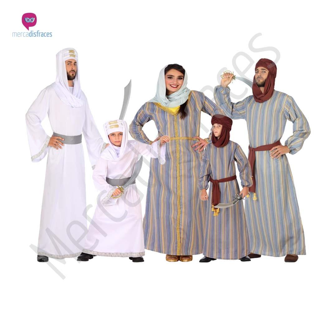 Disfraces para grupos y parejas de Arabes e Hindús