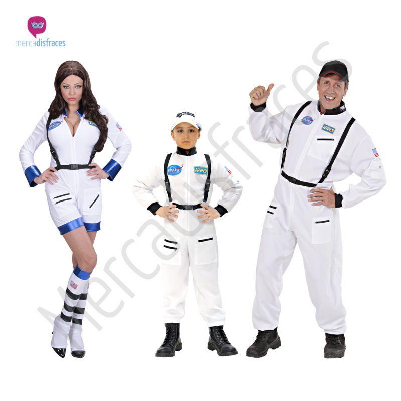 Disfraces para grupos y parejas de Astronautas y Exttraterrestres
