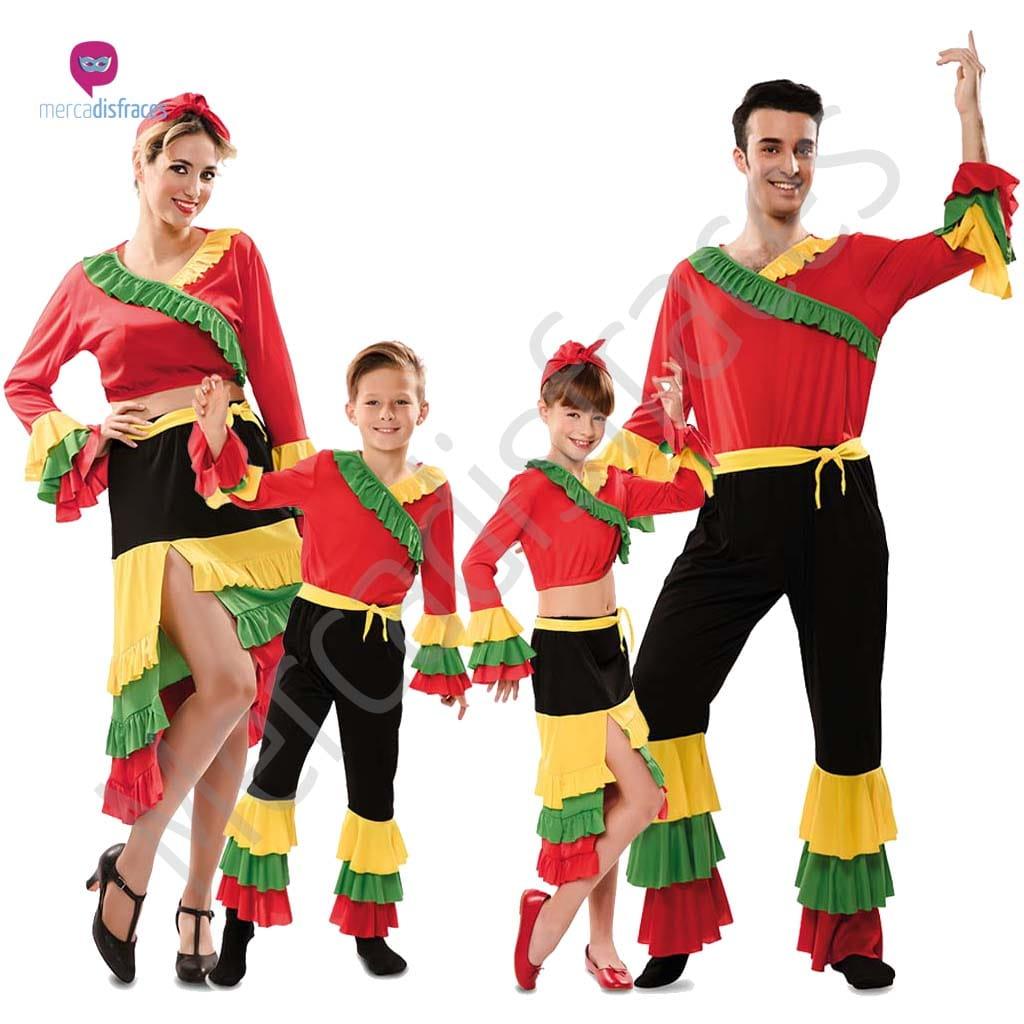 Disfraces para grupos y parejas de Brasileños y Rumberos