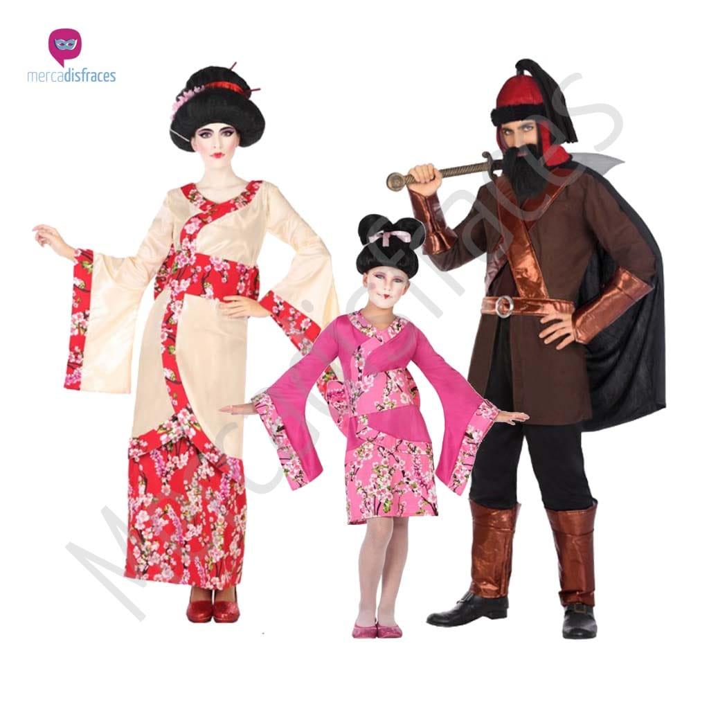 Disfraces para grupos y parejas de Chinos, japoneses y ninjas