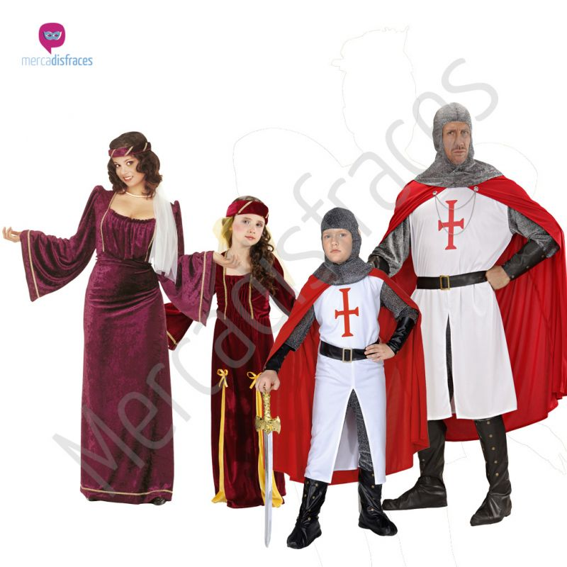 Disfraces para grupos y parejas de Cruzados