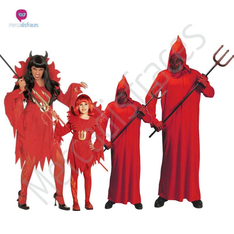 Disfraces para grupos y parejas de Diablos o Demonios