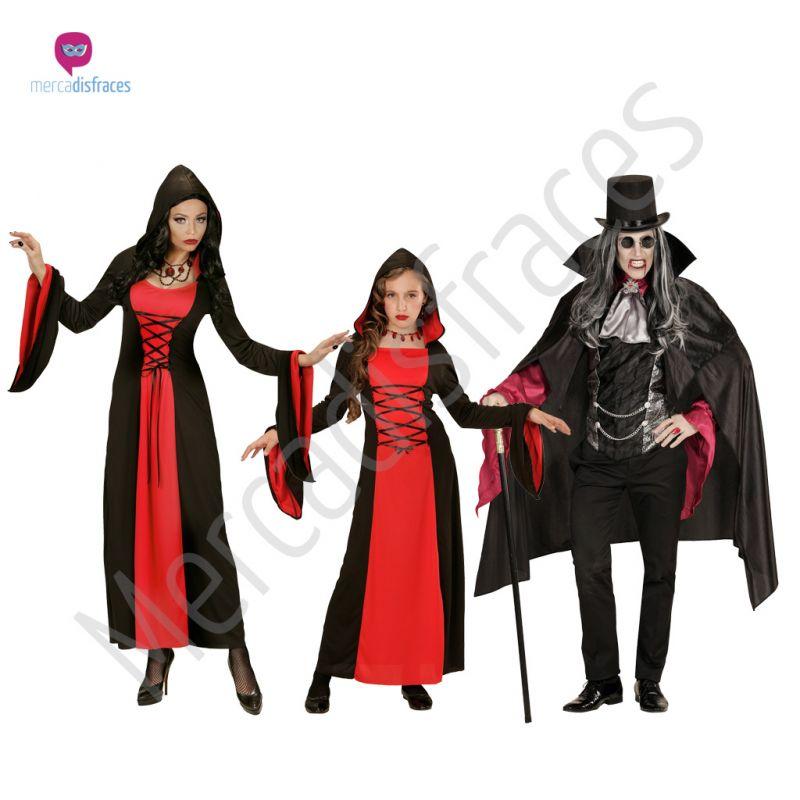 Disfraces para grupos y parejas de Draculas y Vampiros