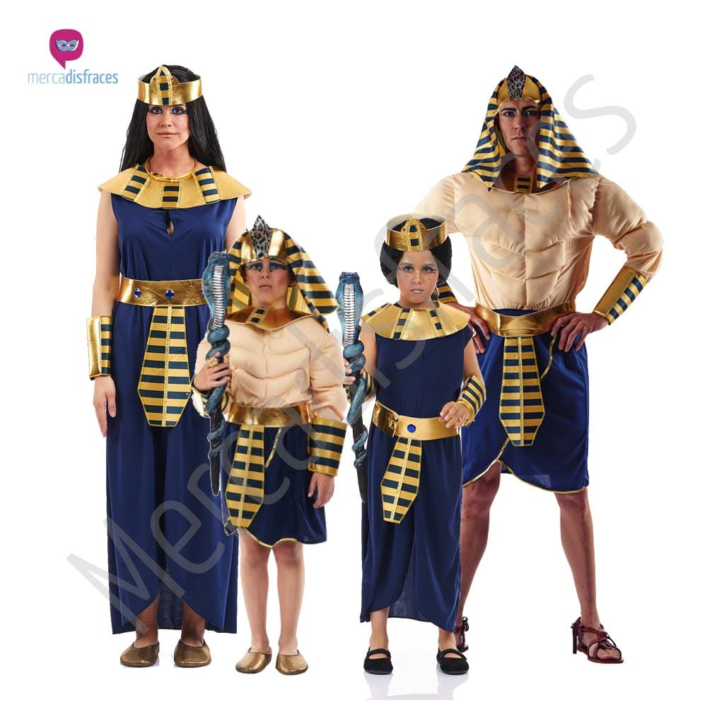 Disfraces para grupos y parejas de Egipcios