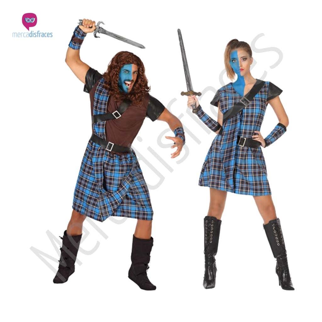 Disfraces para grupos y parejas de Escoceses