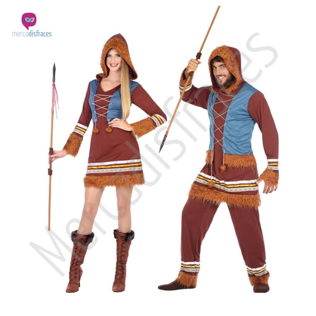 Disfraces para grupos y parejas de Esquimales