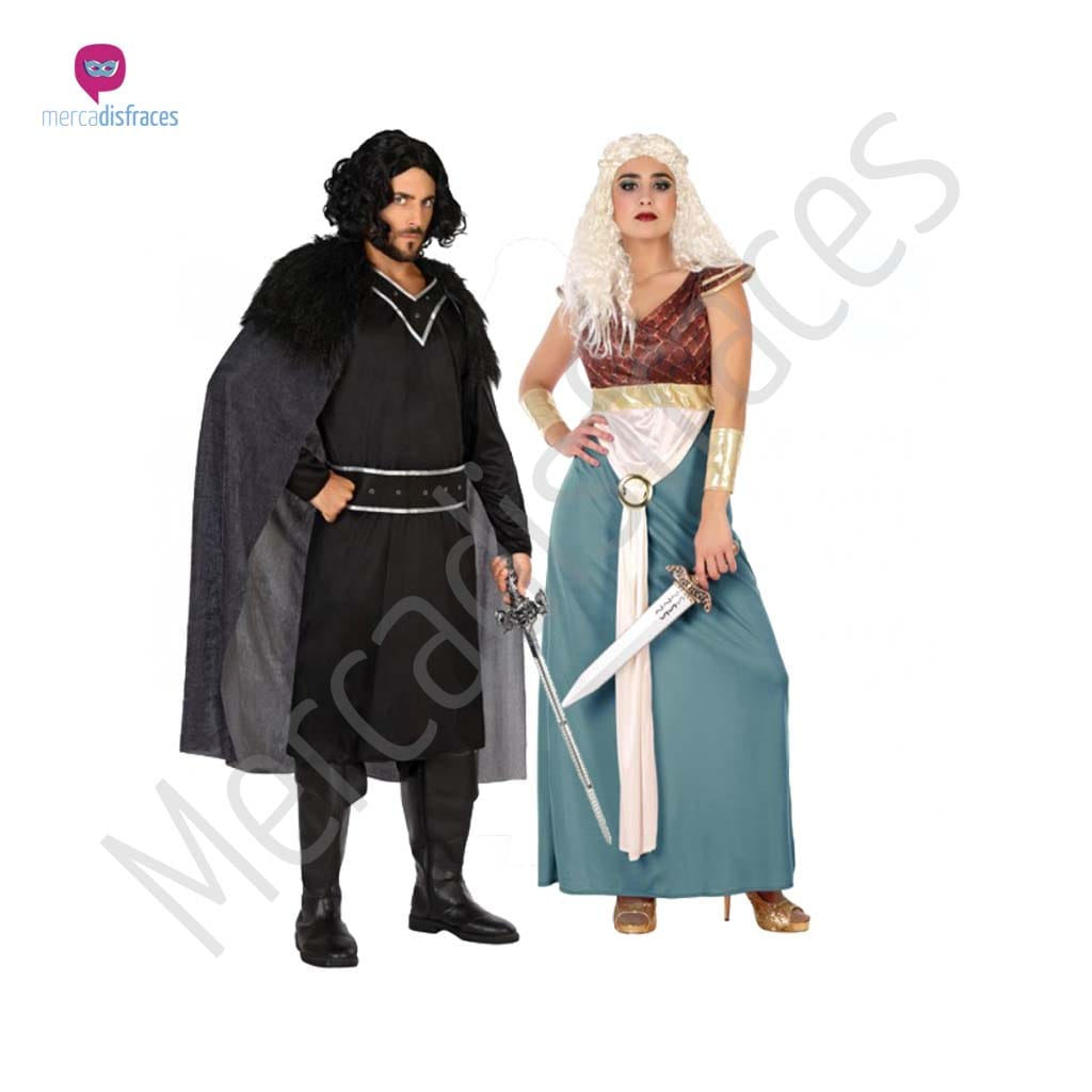Disfraces para grupos y parejas de Guerreros Medievales