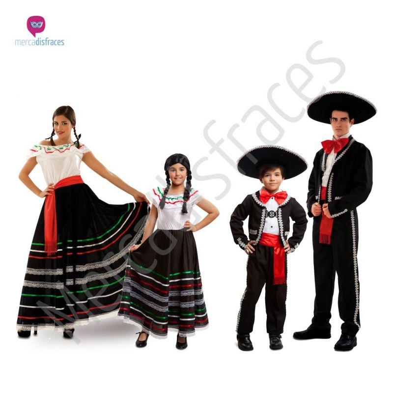 Disfraces para grupos y parejas de Mejicanos