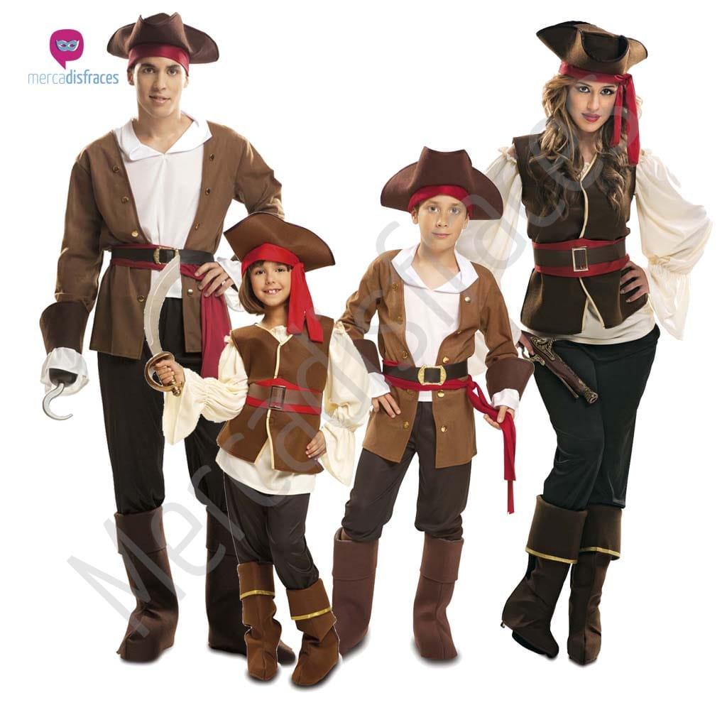Disfraces para grupos y parejas de Piratas y Corsarios