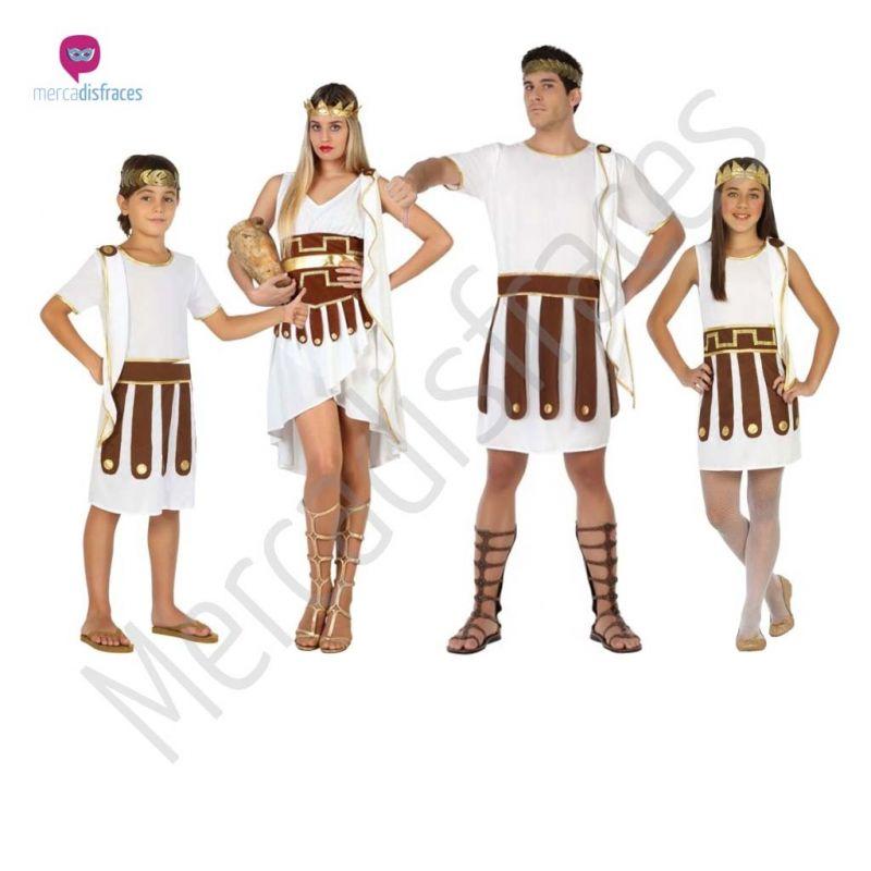 Disfraces para grupos y parejas de Romanos y Griegos