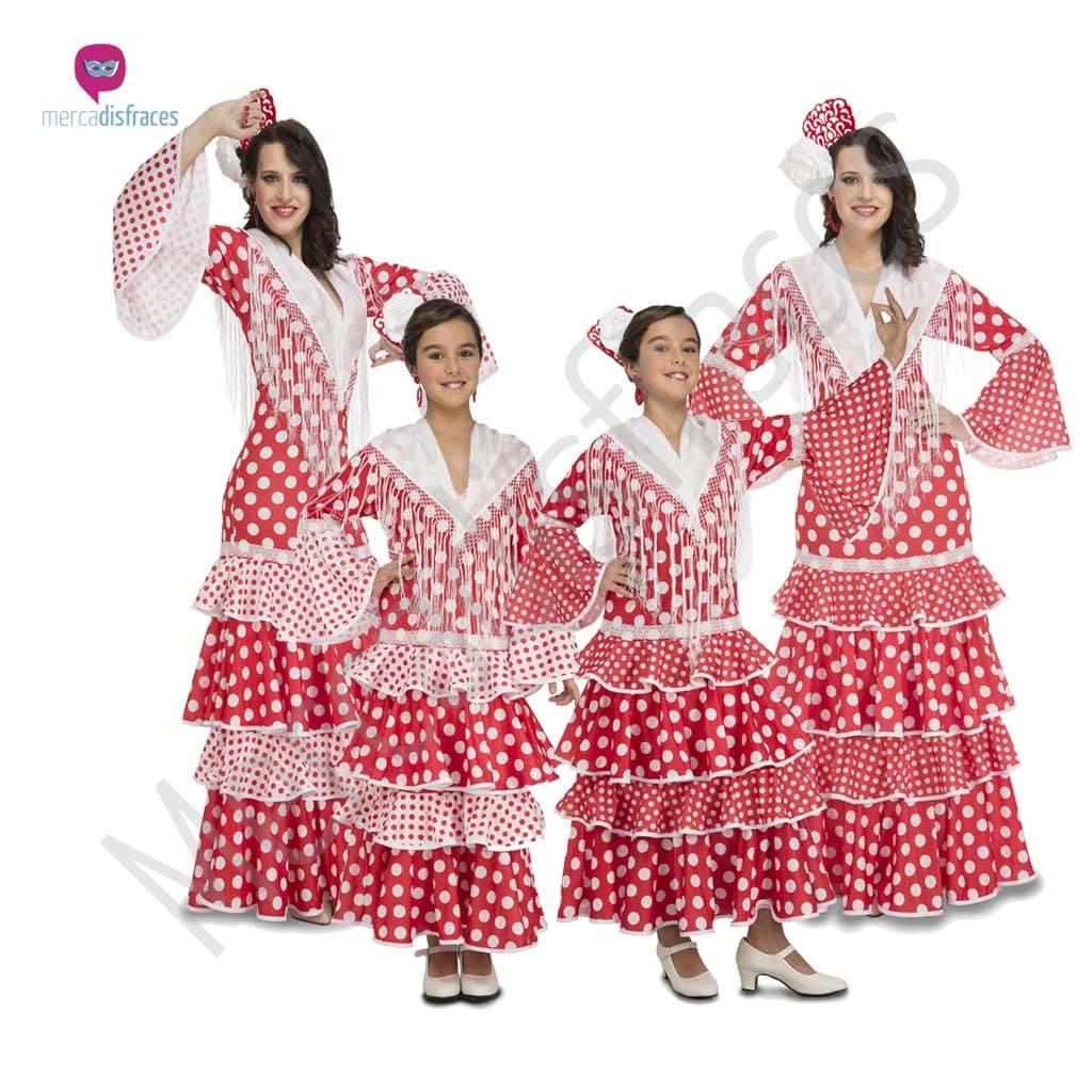 Disfraces para grupos y parejas de Sevillanas y Flamencos