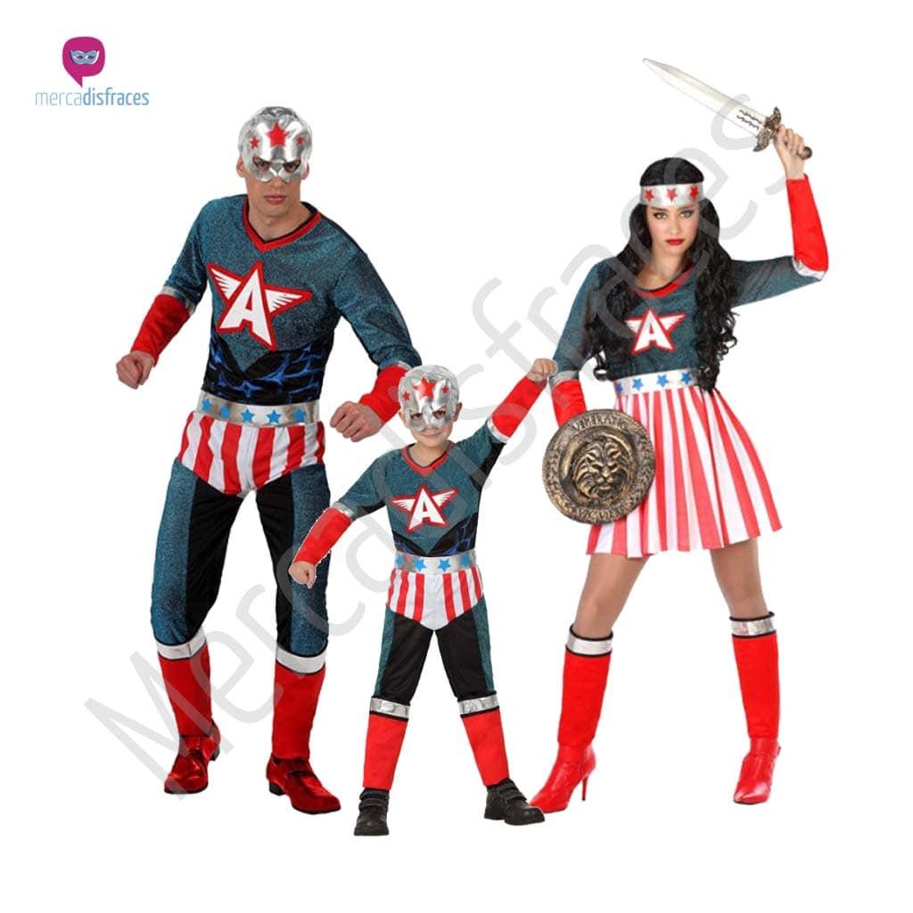 Disfraces para grupos y parejas de Superhéroes