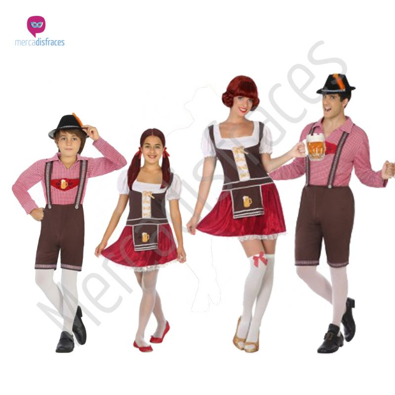 Disfraces para grupos y parejas de Tiroleses