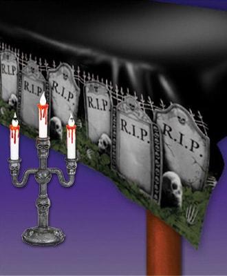 Decoraciones de mesa para tus fiestas de Halloween