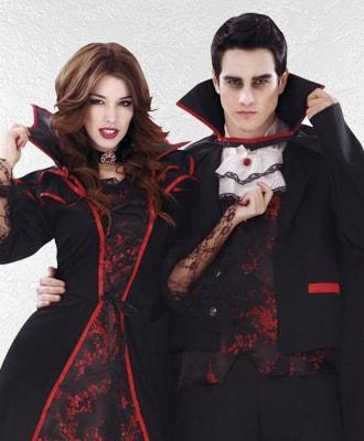 Disfraces de Dráculas y Vampiros