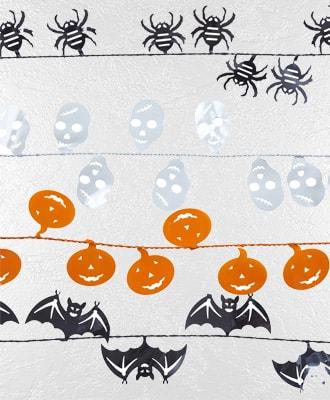 Guirnadas para decorar tus fiestas de Halloween