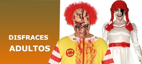 Disfraces de Adulto para Halloween