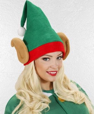 Complementos al disfraz  de Elfos y Duendes para Navidad