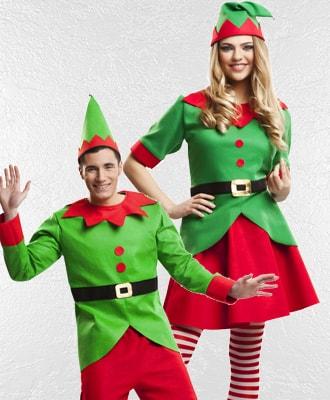 Disfraces de Elfos y Duendes para Navidad
